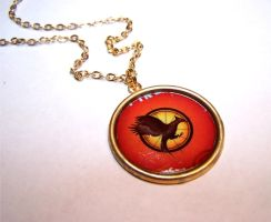 Pendant: Catching Fire by Bright-Circle