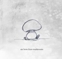 of Monsters and Mushrooms p3 by lafhaha