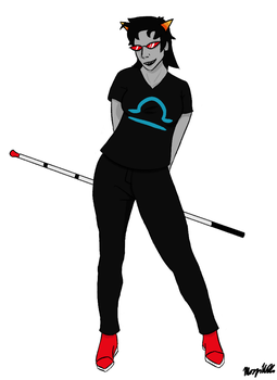 Terezi for Dragonflaw by Liobits