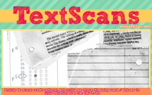 Text Scans by Huggies123abc