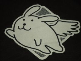 Flying Miny Bunny T-Shirt by pie1313