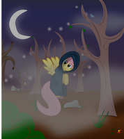 Why are you here in the woods tonight? by lightningtumble