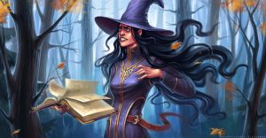 Casting A Spell by sashulka