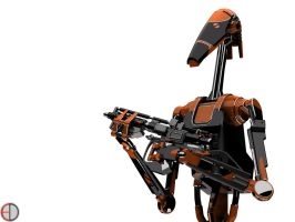 Dark Battle Droid - 2 by mech7