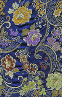 Blue Tiling Fabric by jediravenclaw