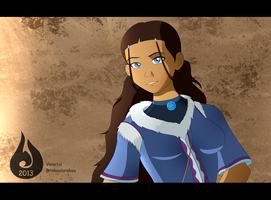 Adult Katara by Venetia-the-Hedgehog