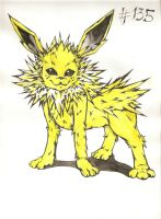 #135 Jolteon by Hisamishi