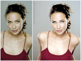 Retouch Claire Forlani by Giraffina