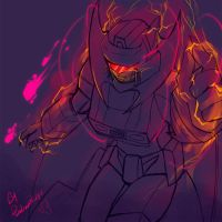 TF - In Blood Soaked Darkness by plantman-exe