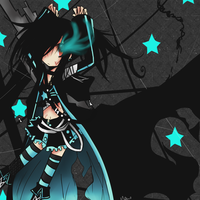 Necro: Black Rock Shooter? by daisukibaka
