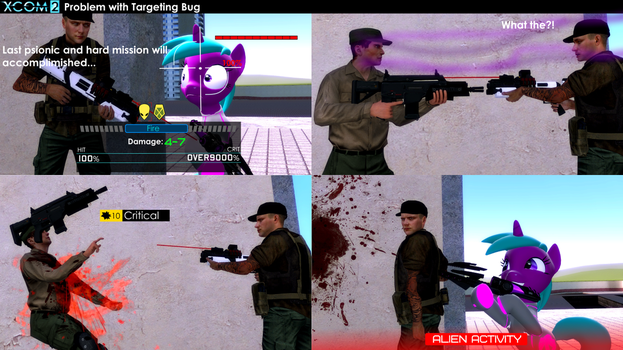Problems with Targeting bug (Stories from XCOM) by falloutshararam