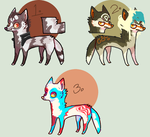 [ADOPT] Canine auction set 1 - closed by umv