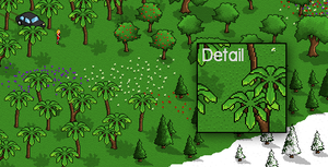 Pixel Art Trees and Flowers by DXC381