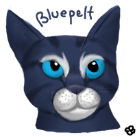 Bluepelt by Brookreed