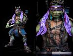 Teenage Mutant Ninja Turtles 2014Donatello repaint by clefchan