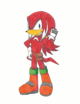 Hunter The Echidna by RedFire199-S