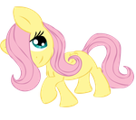 Filly Fluttershy by MochiFries