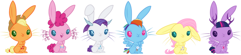 Bunnyfication of Pony by CountWildrake