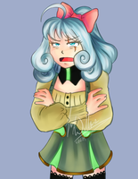 Weiss dressed as Penny speed commission by AtsusaKaneytza
