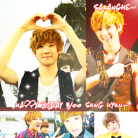 HAPPY B-DAY KEVIN WOO SUNG HYUN by Chacolate1lover