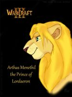 The Lion Prince Arthas Menethil by Flive-aka-Nailan