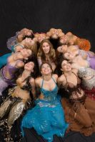 be happy belly dancers by carolinaangulo