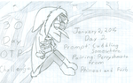 January OTP Challenge: Day 2 by DeviantGirl2014