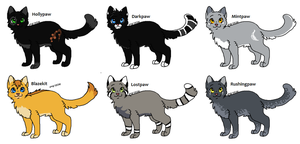 Warrior cat Adopts 2 *APPRENTICE'S* Closed by Evertooth