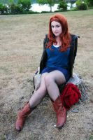 Amy Pond - Amusement by moonflower-lights
