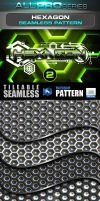 Hexagon Seamless Tileable Pattern Vol.2 by ravirajcoomar