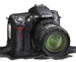 Nikon D80 Melt 2 by carlosnumbertwo