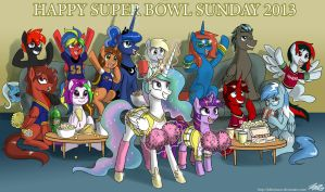 Happy Super Bowl Sunday 2013 by johnjoseco