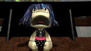 LBP-Crying Sackgirl by WhiteMagicPriestess