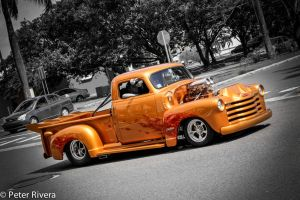 A cruise in the supercharged hot rod pickup by Caramanos2000
