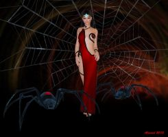 Beware of the Spider-Queen by GlobtheSpacetoad