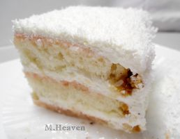 Coconut cake by vungoclam