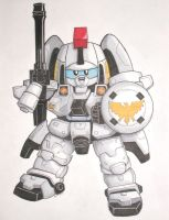 SD Tallgeese I by katiewhy