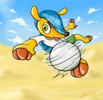 2014 FIFA Worldcup Mascot - Fuleco by Gkenzo