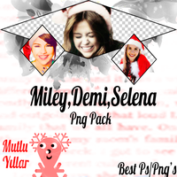 Demi Miley Selena Png Pack By Furkan by FurkanY