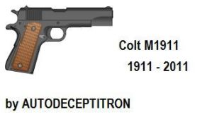 M1911 100th Anniversary by AUTODECEPTITRON