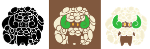 Tribal Whimsicott by Piniee