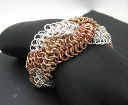 Braided Euro 4 and 1 Bracelet by andrewk1969