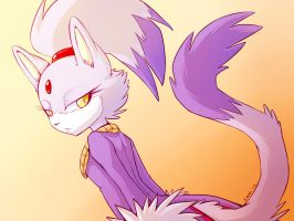OHS Challenge - Blaze the cat by caninelove