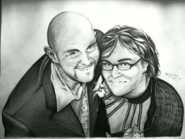 Ruud and Danielle Portrait by ChristiaanR1990