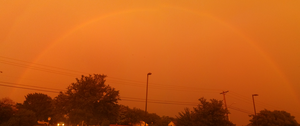Orange Rainbow 5-25-2014 by 1Wyrmshadow1