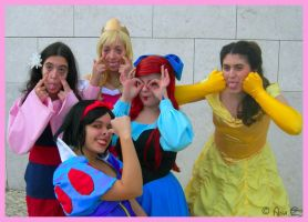 Loony Princesses by Ana-D