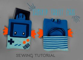 Sewing Tutorial - The Gamekip Tablet Case by SewDesuNe