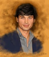 Tom Welling Retrato by ShadCarlos