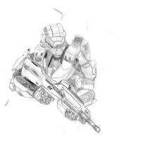 Master chief (Final) by Wolfguy360