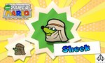 New Paper Mario: Sheek by Nelde